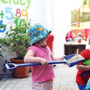 Learn through play nursery in Dubai
